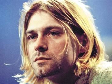 Kurt Cobain mi long grunge